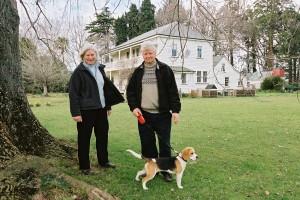 Karola  and Ian at Karamu